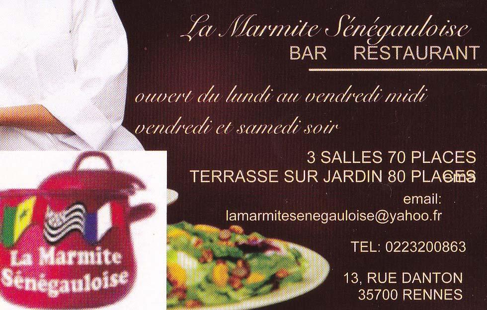 La Marmite Sénégaloise